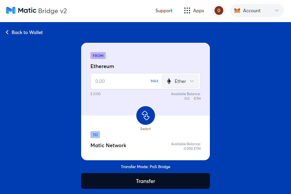 Deploy a smart contract to the Polygon Network bridge